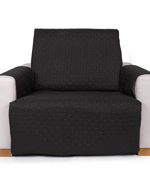 Čierne kreslo 4Home
