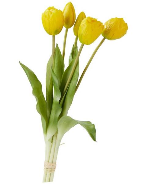 Žltá váza Möbelix