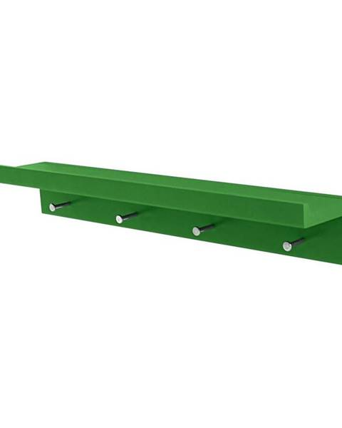 Zelený vešiak Möbelix