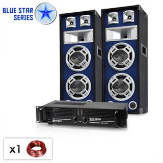 "Electronic-Star ,,Bassboom"", 1600W, PA set zo série Blue Star"