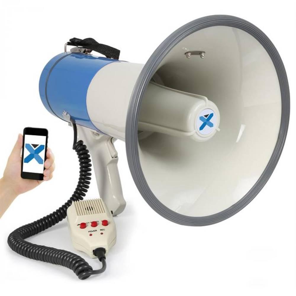Vexus Vexus MEG055, megafón, 55 W, bluetooth, USB, SD, MP3, funkcia nahrávania, mikrofón, prevádzka na batérie