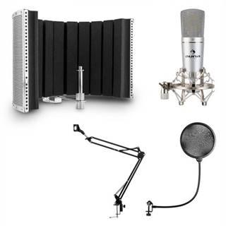 Auna MIC-920, USB, mikrofónový set, V5, mikrofón, otočné rameno, POP filter, clona