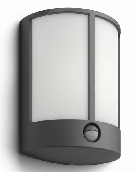 Sivé nástenné svietidlo Philips