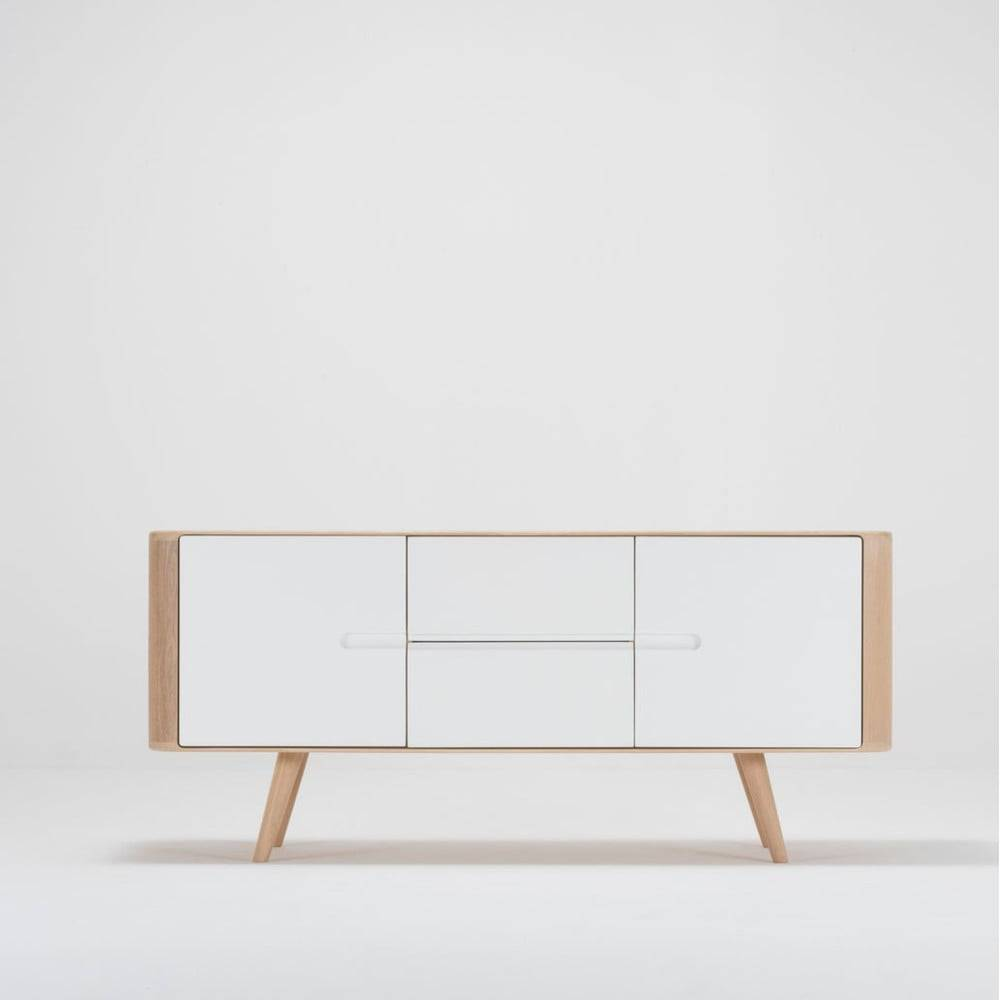 Gazzda Komoda z dubového dreva Gazzda Ena, 135×42×60 cm