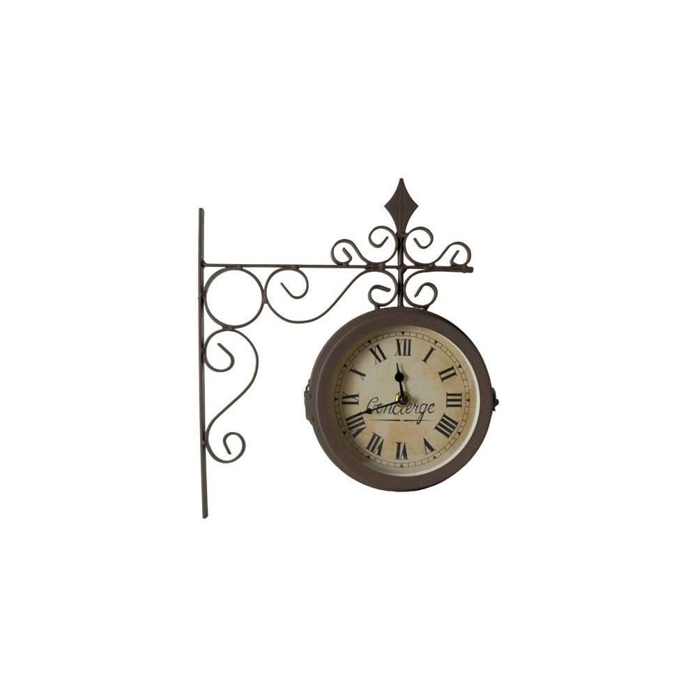 Antic Line Obojstranné nástenné hodiny Antic Line Concierge