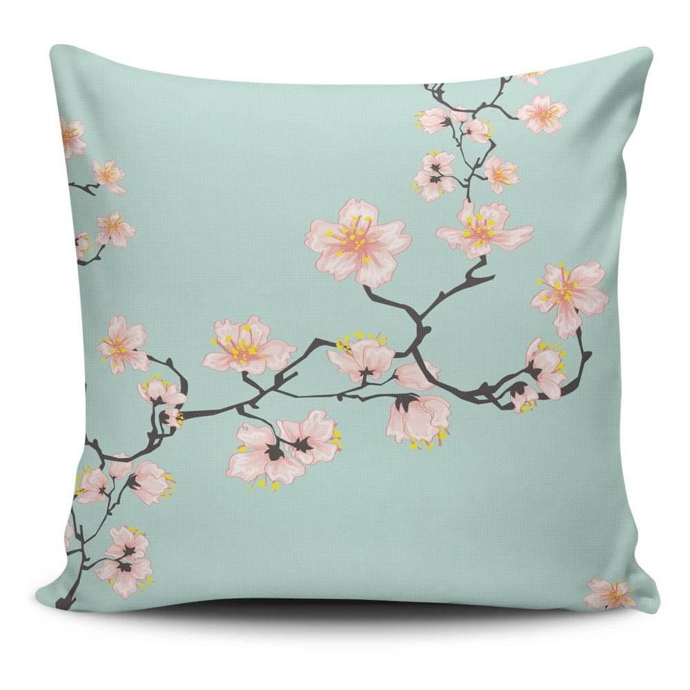 Cushion Love Obliečka na vankúš s prímesou bavlny Cushion Love Pinkie Branch, 45 × 45 cm