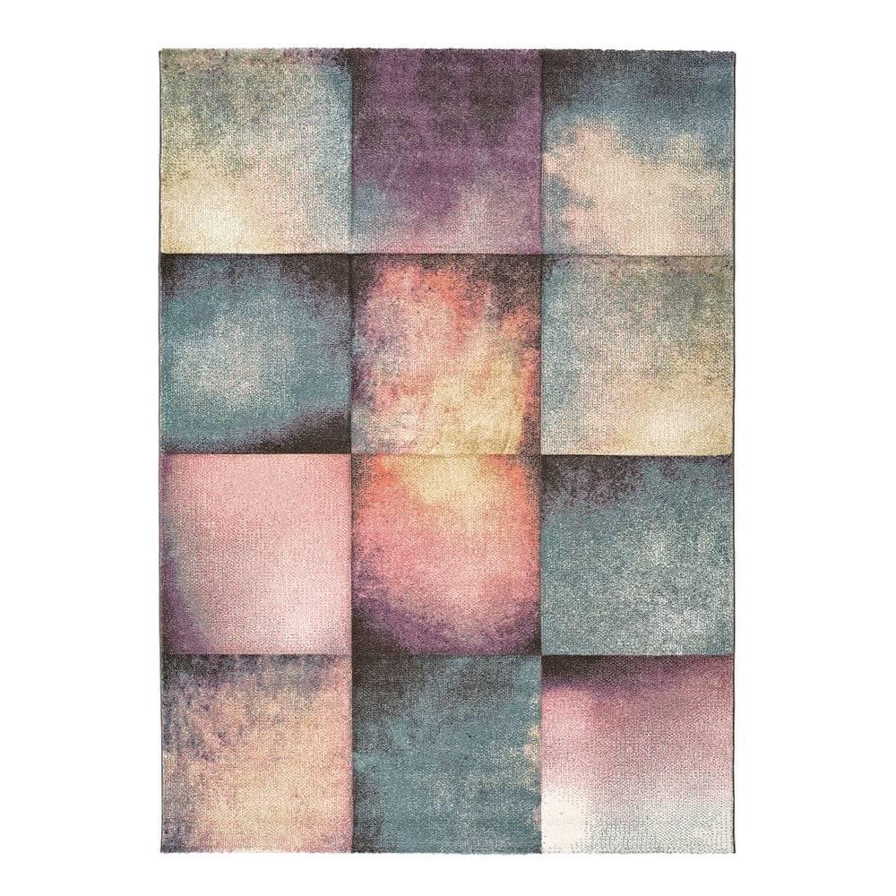 Universal Koberec Universal Pinky Squaro Multi, 80×150 cm