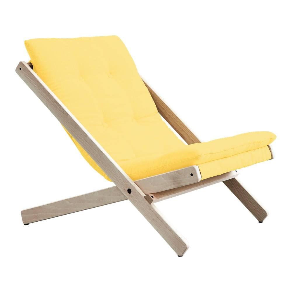 Karup Design Skladacie kreslo Karup Design Boogie Raw/Yellow
