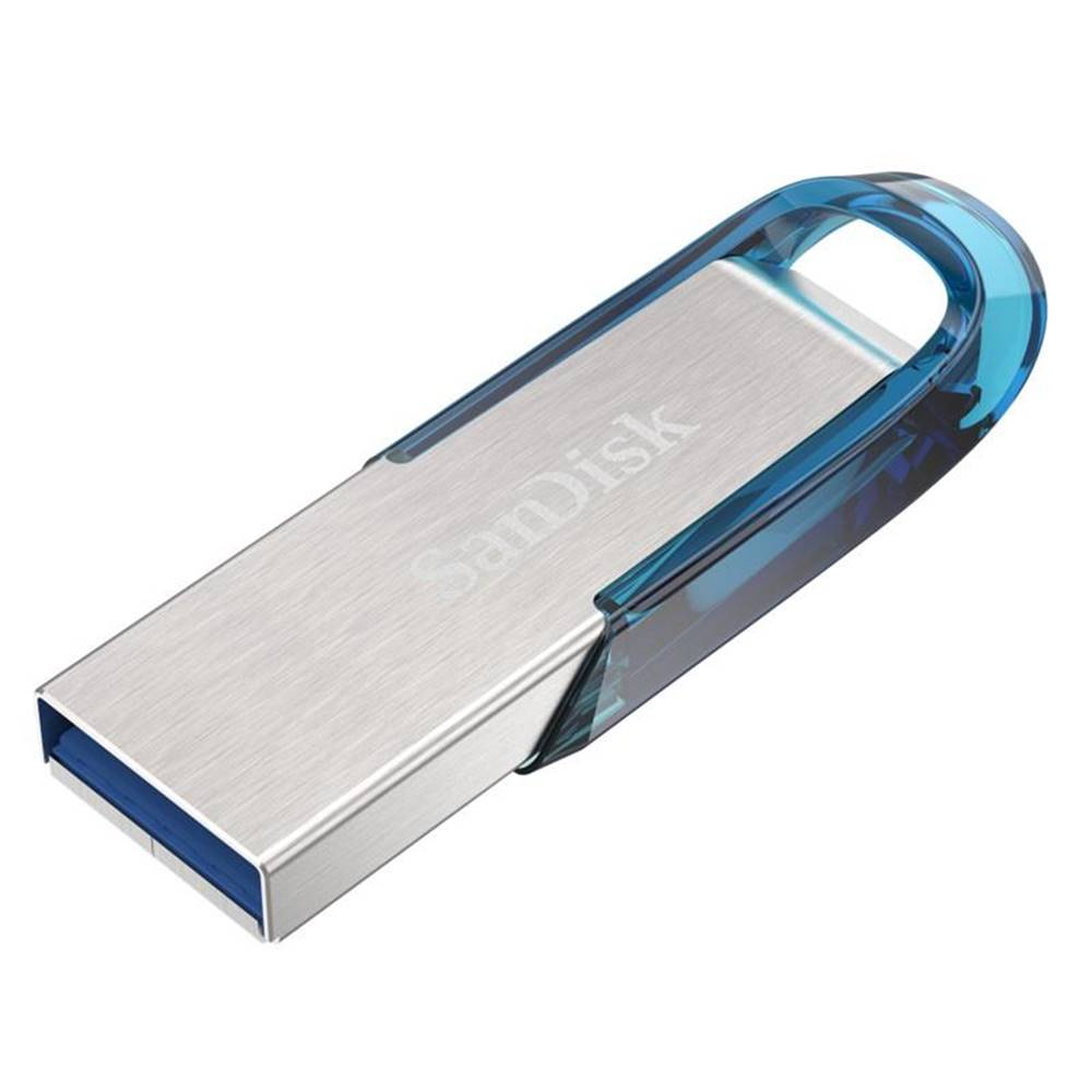 Sandisk USB flash disk Sandisk Ultra Flair 64GB strieborný/modrý