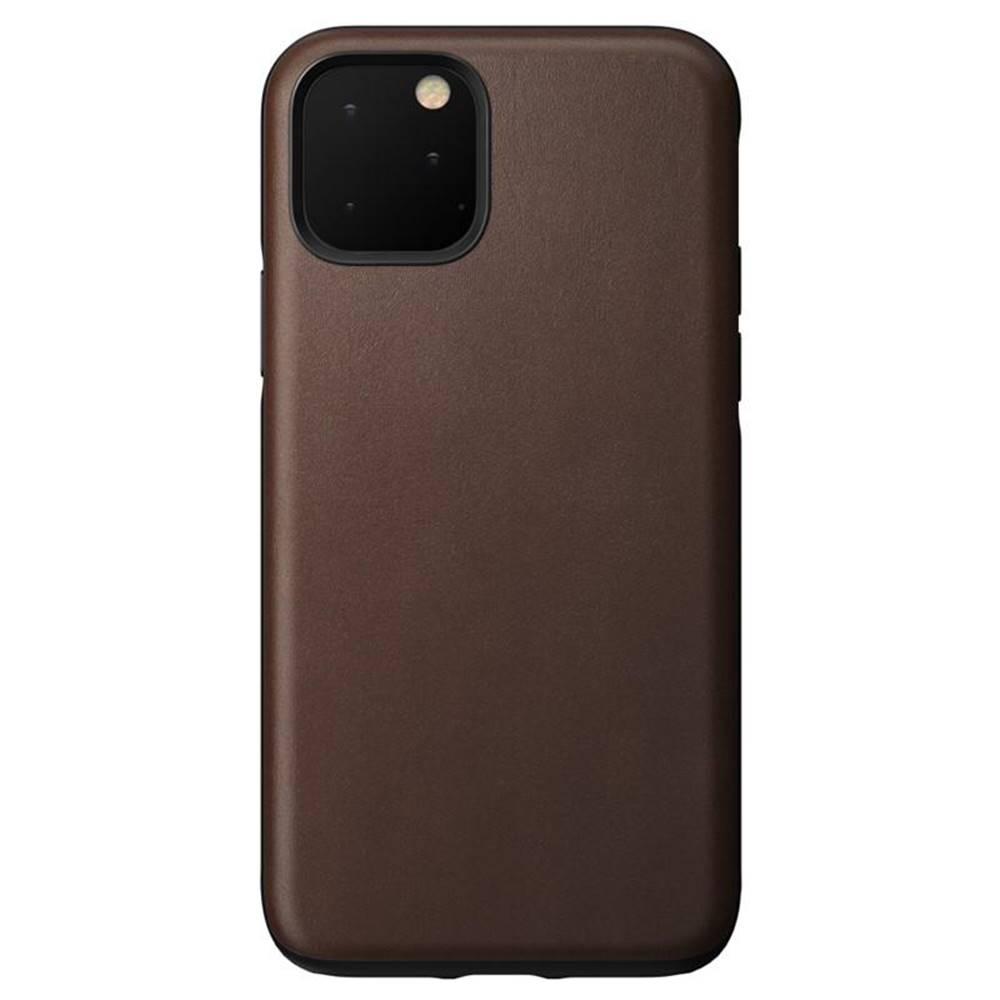 NOMAD Kryt na mobil Nomad na Apple iPhone 11 Pro hnedý