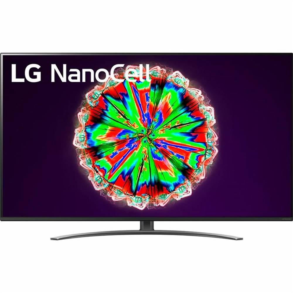 LG Televízor LG 49Nano81 čierna