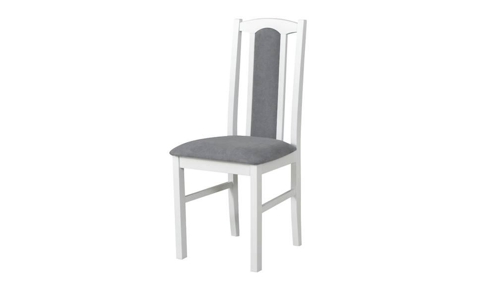 Sconto Jedálenská stolička BOLS 7 sivá/biela