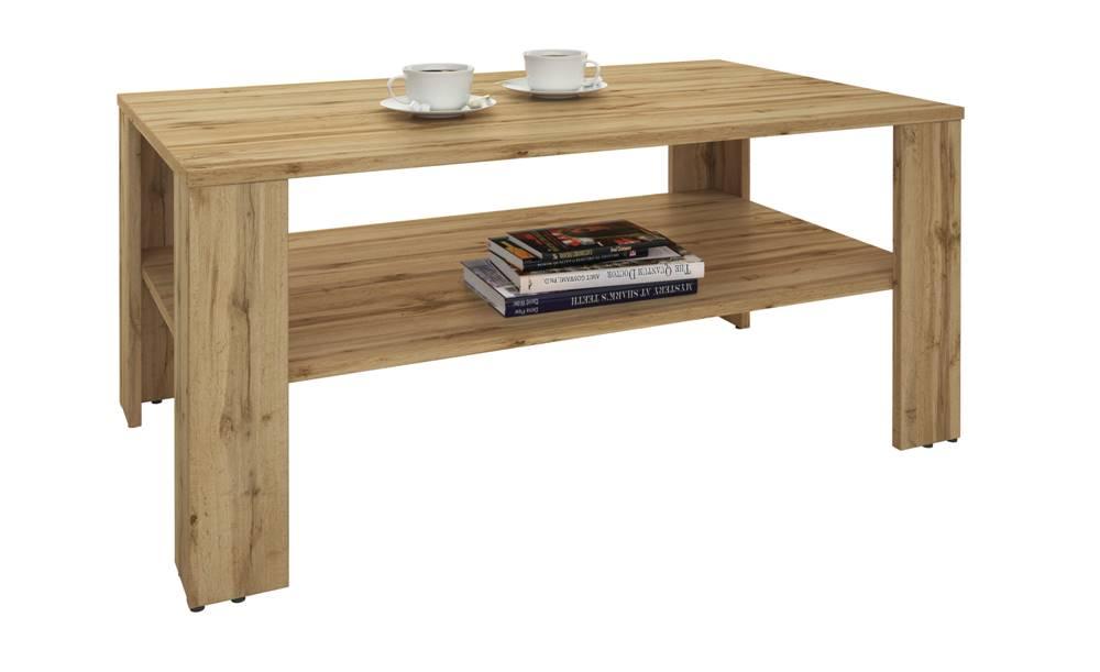 Sconto Konferenčný stolík VENTA dub wotan/100x59 cm