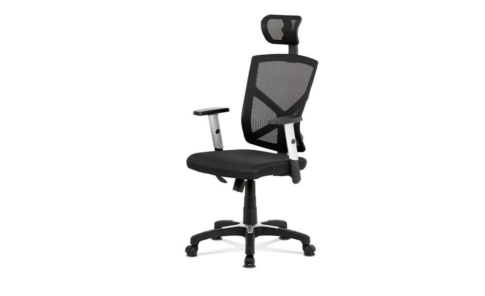 Sconto Kancelárská stolička PETER čierna