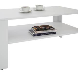 Konferenčný stolík VENTA biela, 100x59 cm